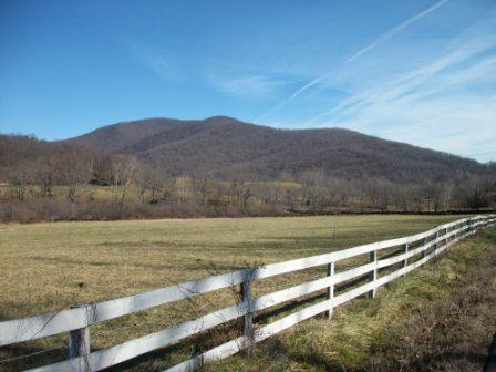 The Peak mountain in Rappahannock County