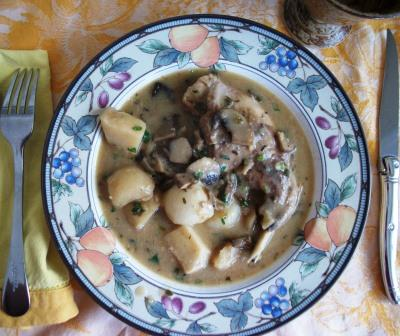 ... Gardener » A Winter Rabbit Stew With Mushrooms and Hakurei Turnips
