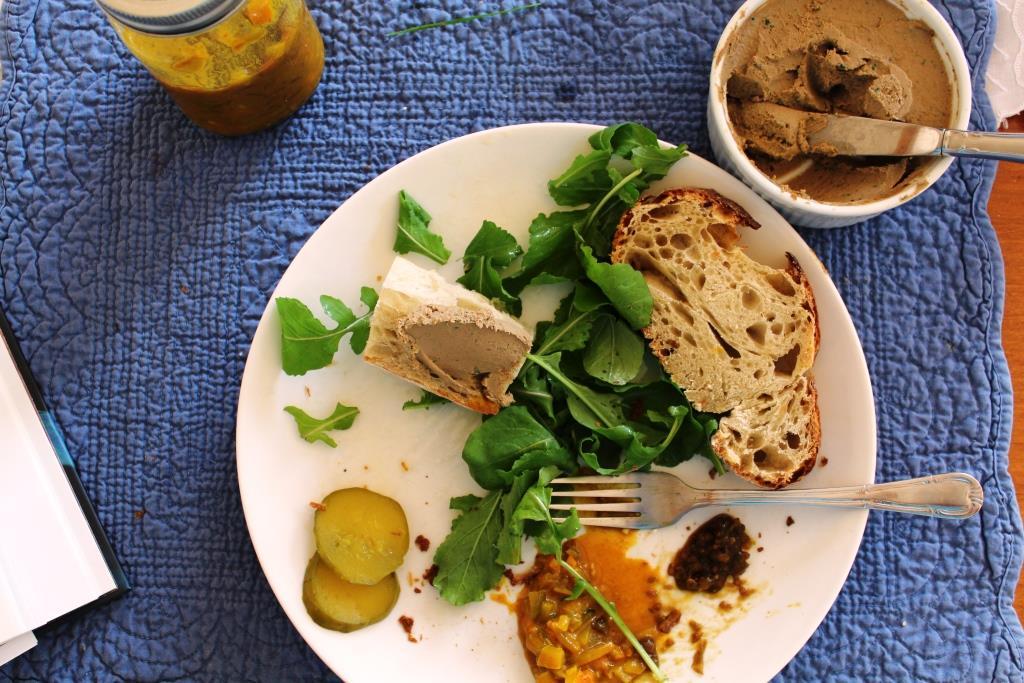 Chicken/turkey liver pate